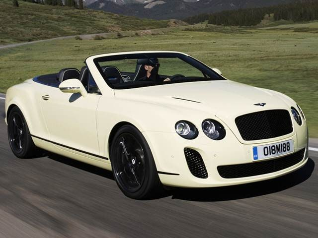 Top Consumer Rated Luxury Vehicles of 2010 - 2010 Bentley Continental