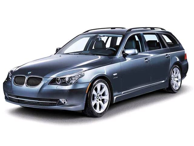 Top Consumer Rated Wagons of 2010 - 2010 BMW 5 Series