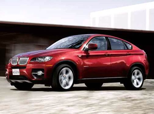 Top Consumer Rated SUVS of 2010 - 2010 BMW X6 M