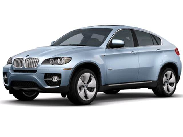 Highest Horsepower Crossovers of 2010 - 2010 BMW X6