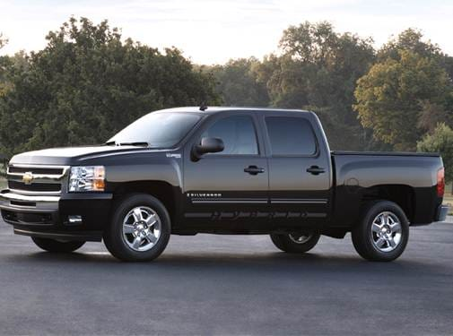 Most Popular Hybrids of 2010 - 2010 Chevrolet Silverado 1500 Crew Cab