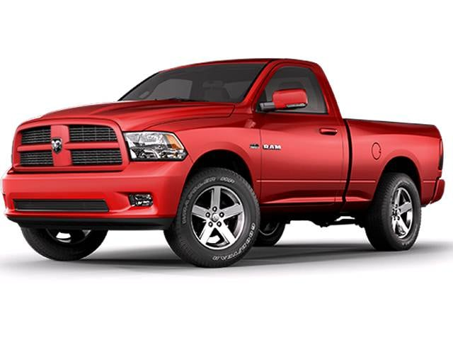 Highest Horsepower Trucks of 2010 - 2010 Dodge Ram 1500 Regular Cab