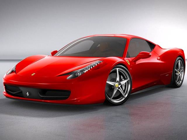 Highest Horsepower Luxury Vehicles of 2010 - 2010 Ferrari 458 Italia