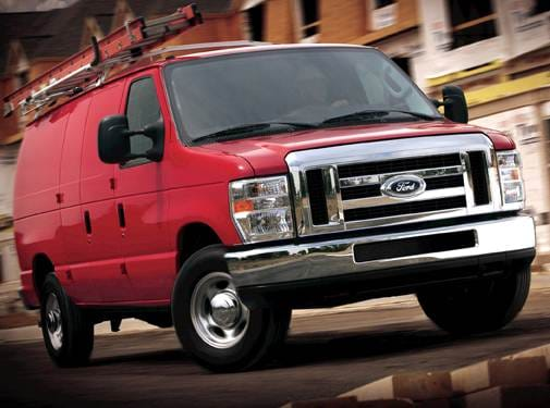 Top Consumer Rated Van/Minivans of 2010 - 2010 Ford E350 Super Duty Cargo
