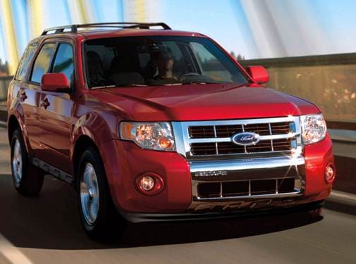 Most Popular Crossovers of 2010 - 2010 Ford Escape