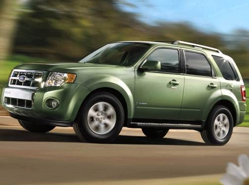 Most Fuel Efficient Suvs Of 2010 Ford Escape