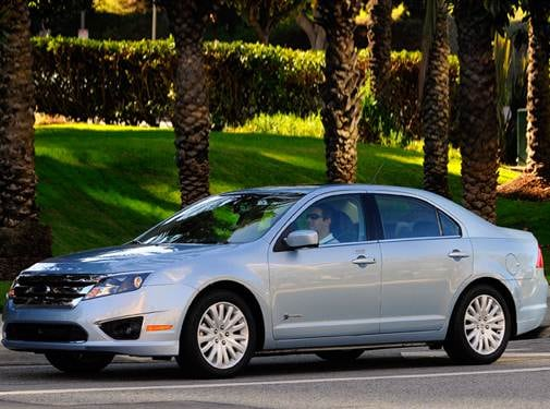 Most Popular Hybrids of 2010 - 2010 Ford Fusion