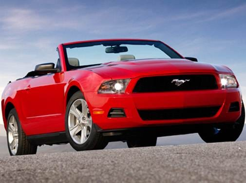Most Popular Convertibles of 2010 - 2010 Ford Mustang