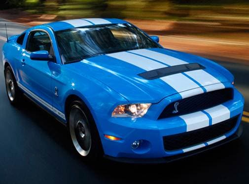 Highest Horsepower Coupes of 2010 - 2010 Ford Mustang