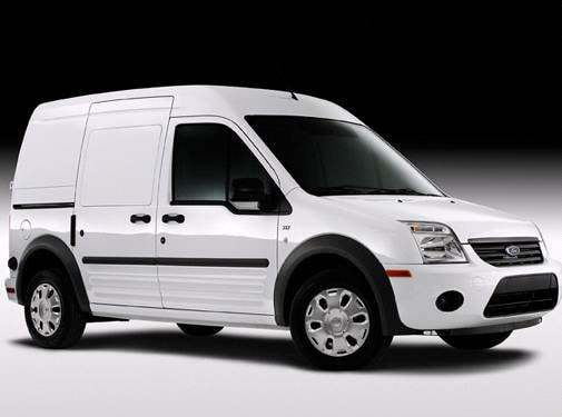 Most Fuel Efficient Van/Minivans of 2010 - 2010 Ford Transit Connect Cargo