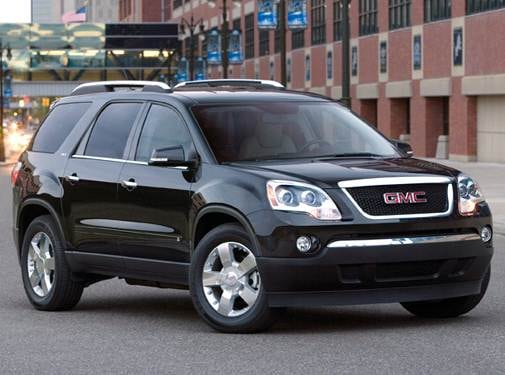 Most Popular Crossovers of 2010 - 2010 GMC Acadia