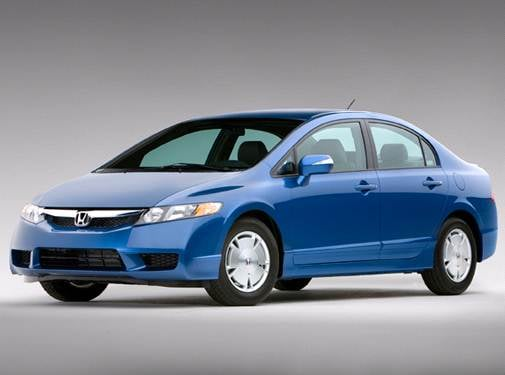 Most Popular Hybrids of 2010 - 2010 Honda Civic