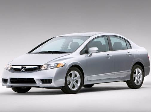 Most Popular Sedans of 2010 - 2010 Honda Civic