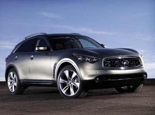 Top Consumer Rated Crossovers of 2010 - 2010 INFINITI FX