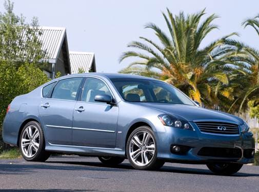 Top Consumer Rated Sedans of 2010 - 2010 INFINITI M