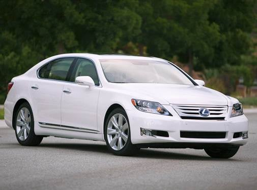 Highest Horsepower Hybrids of 2010 - 2010 Lexus LS