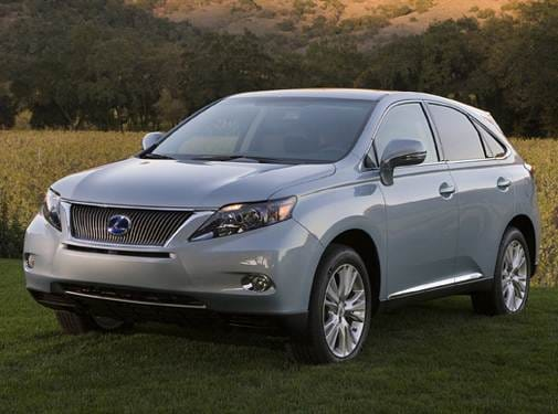 Most Fuel Efficient Luxury Vehicles of 2010 - 2010 Lexus RX