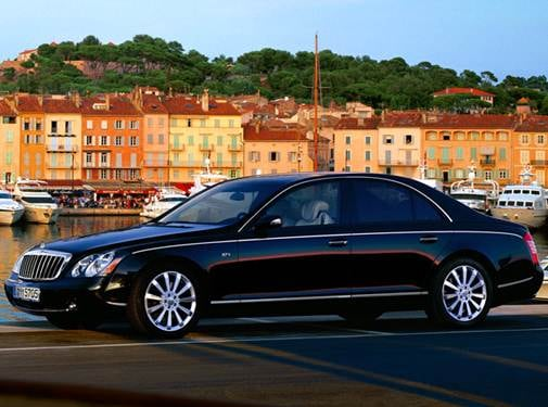 Highest Horsepower Luxury Vehicles of 2010 - 2010 Maybach 57