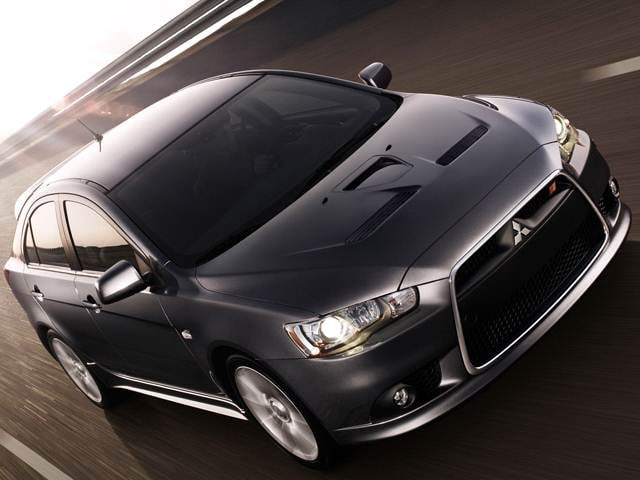 Highest Horsepower Hatchbacks of 2010 - 2010 Mitsubishi Lancer