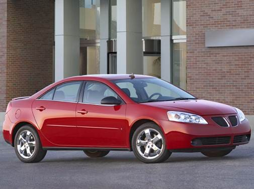 Most Popular Sedans of 2010 - 2010 Pontiac G6