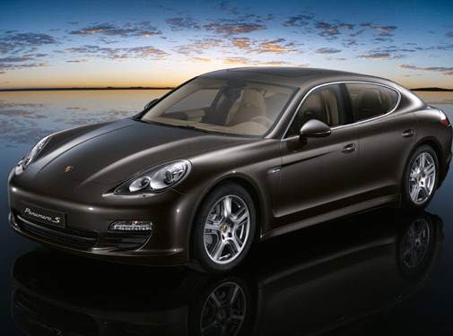 Top Consumer Rated Sedans of 2010 - 2010 Porsche Panamera