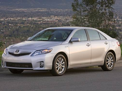 Most Popular Hybrids of 2010 - 2010 Toyota Camry
