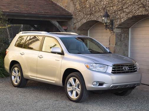 Top Consumer Rated Suvs Of 2010 Toyota Highlander