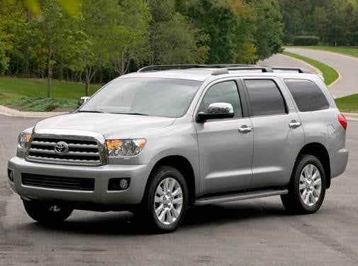Top Consumer Rated SUVS of 2010 - 2010 Toyota Sequoia