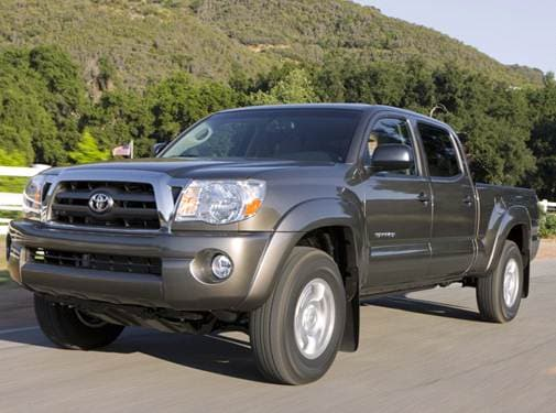 Top Consumer Rated Trucks of 2010 - 2010 Toyota Tacoma Double Cab