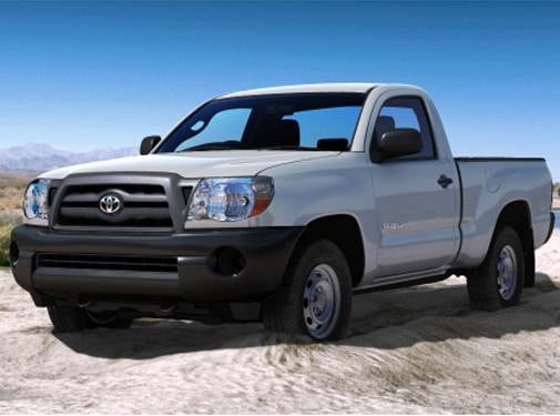 Top Consumer Rated Trucks of 2010 - 2010 Toyota Tacoma Regular Cab