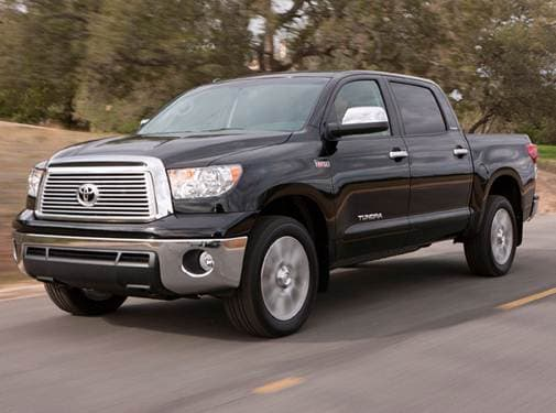 Highest Horsepower Trucks of 2010 - 2010 Toyota Tundra CrewMax