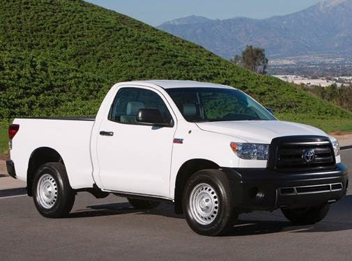 Most Popular Trucks of 2010 - 2010 Toyota Tundra Regular Cab