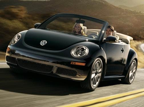 Most Popular Convertibles of 2010 - 2010 Volkswagen New Beetle