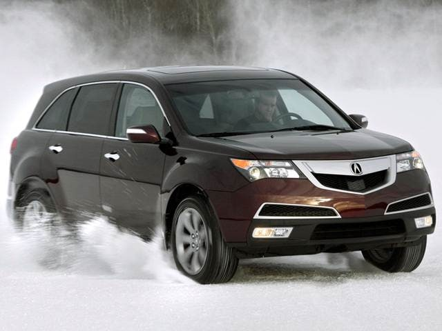 Best Safety Rated SUVS of 2011 - 2011 Acura MDX