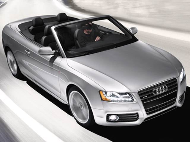 Most Fuel Efficient Convertibles of 2011 - 2011 Audi A5