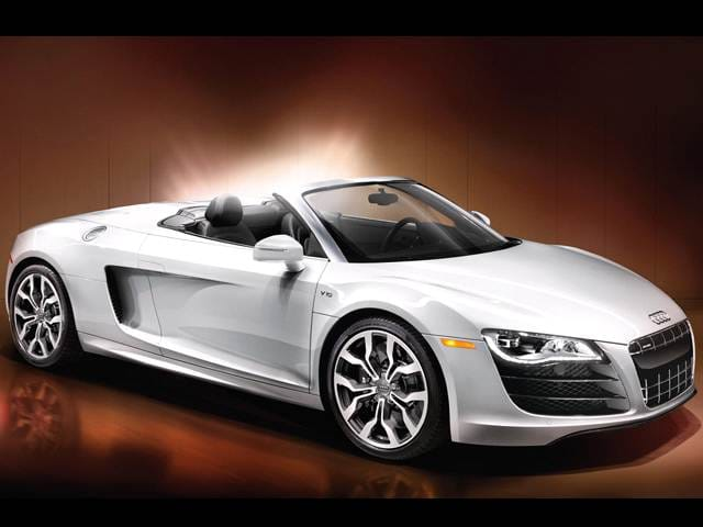 Highest Horsepower Convertibles of 2011 - 2011 Audi R8