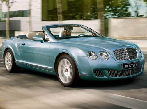 Top Consumer Rated Convertibles of 2011 - 2011 Bentley Continental