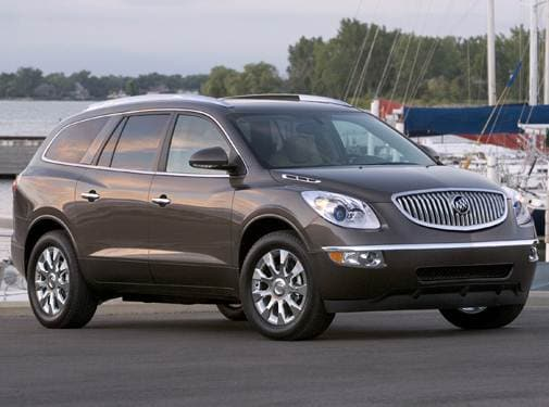 Most Popular Luxury Vehicles of 2011 - 2011 Buick Enclave