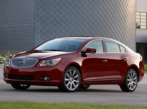 Best Safety Rated Sedans of 2011 - 2011 Buick LaCrosse