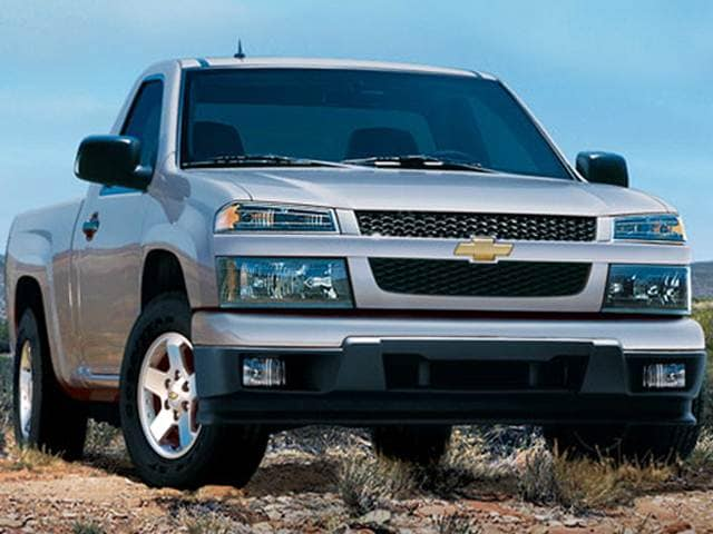 Most Fuel Efficient Trucks of 2011 - 2011 Chevrolet Colorado Regular Cab