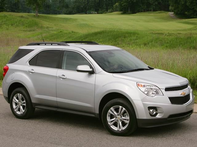 Most Fuel Efficient Crossovers of 2011 - 2011 Chevrolet Equinox