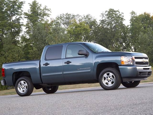 Most Popular Trucks of 2011 - 2011 Chevrolet Silverado 1500 Crew Cab