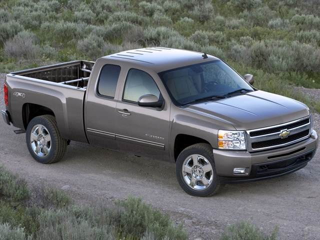 Most Popular Trucks of 2011 - 2011 Chevrolet Silverado 1500 Extended Cab