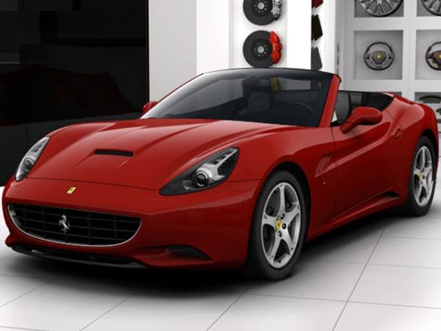 Highest Horsepower Convertibles of 2011 - 2011 Ferrari California