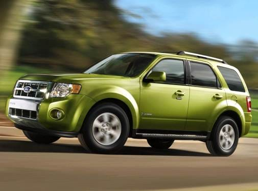 Most Fuel Efficient Crossovers of 2011 - 2011 Ford Escape