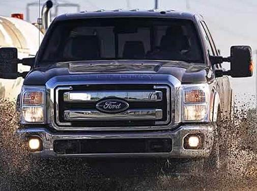 Highest Horsepower Trucks of 2011 - 2011 Ford F350 Super Duty Regular Cab