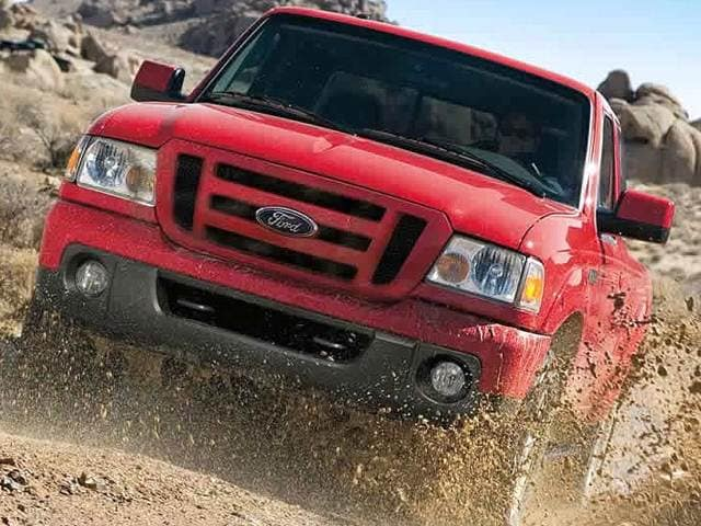 Most Fuel Efficient Trucks of 2011 - 2011 Ford Ranger Regular Cab