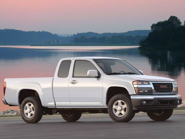 Most Fuel Efficient Trucks of 2011 - 2011 GMC Canyon Extended Cab