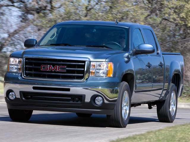 Most Fuel Efficient Trucks of 2011 - 2011 GMC Sierra 1500 Crew Cab