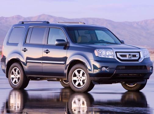 Best Safety Rated SUVS of 2011 - 2011 Honda Pilot